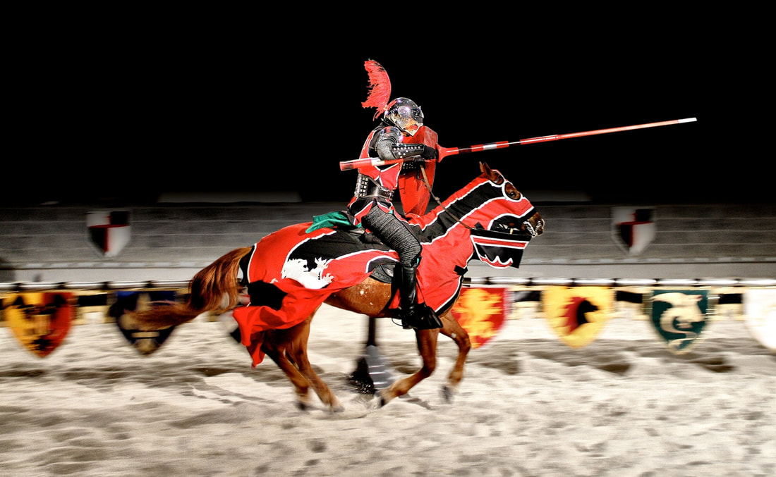 Medieval Times Jousting Competition