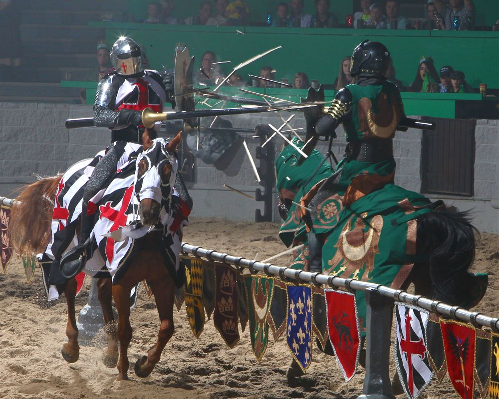 Medieval Times Jousting Show